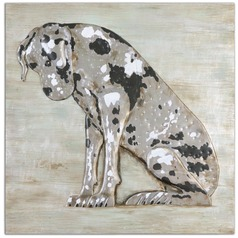 Uttermost Spot Hand Painted Art