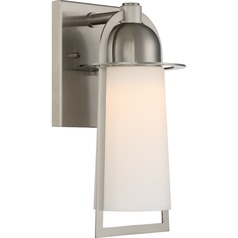 Quoizel Lighting Malibu Stainless Steel LED Outdoor Wall Light