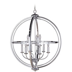 Craftmade Lighting Berkeley Chrome Pendant Light