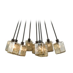 Elk Lighting Watercube Oil Rubbed Bronze Chandelier