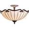 Kichler Lighting Kichler Ceiling Light with White Glass in Bronze / Gold Finish 69046