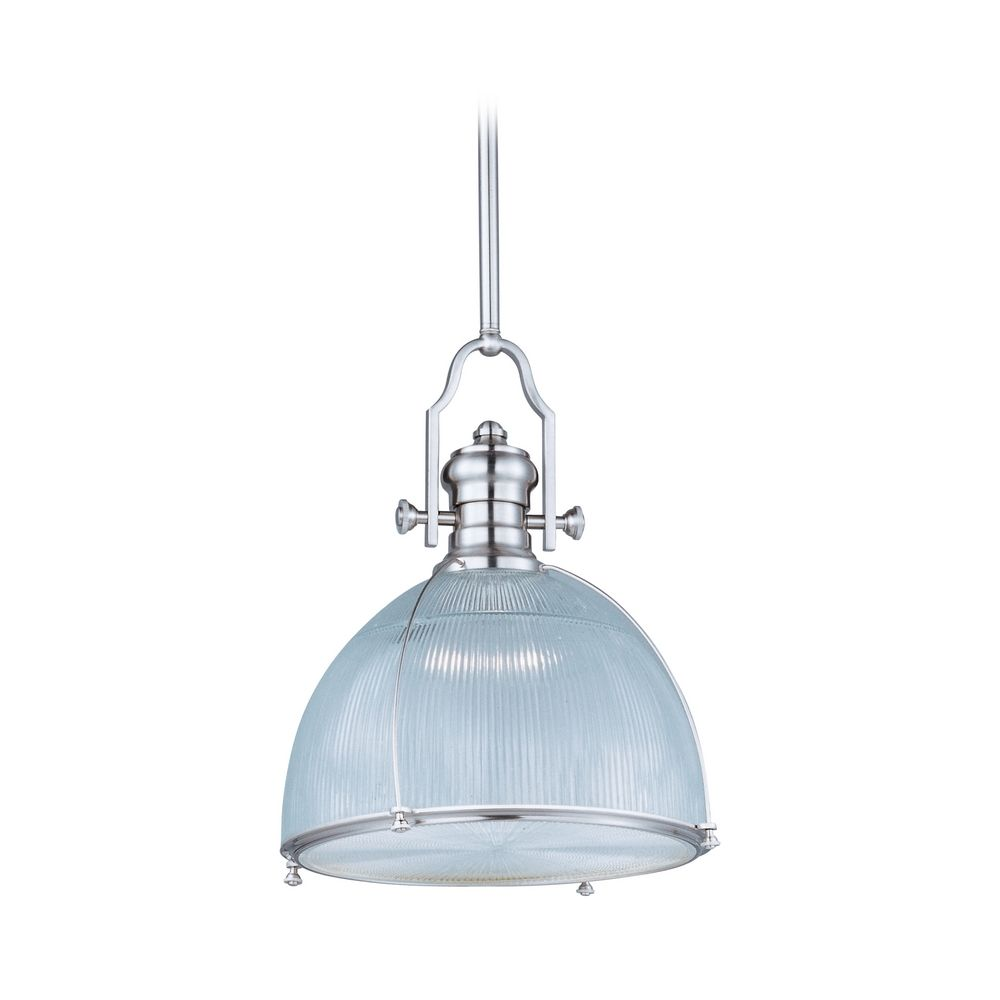 Satin Nickel Pendant Light Part - 23: Shown In Satin Nickel Finish. Product Image