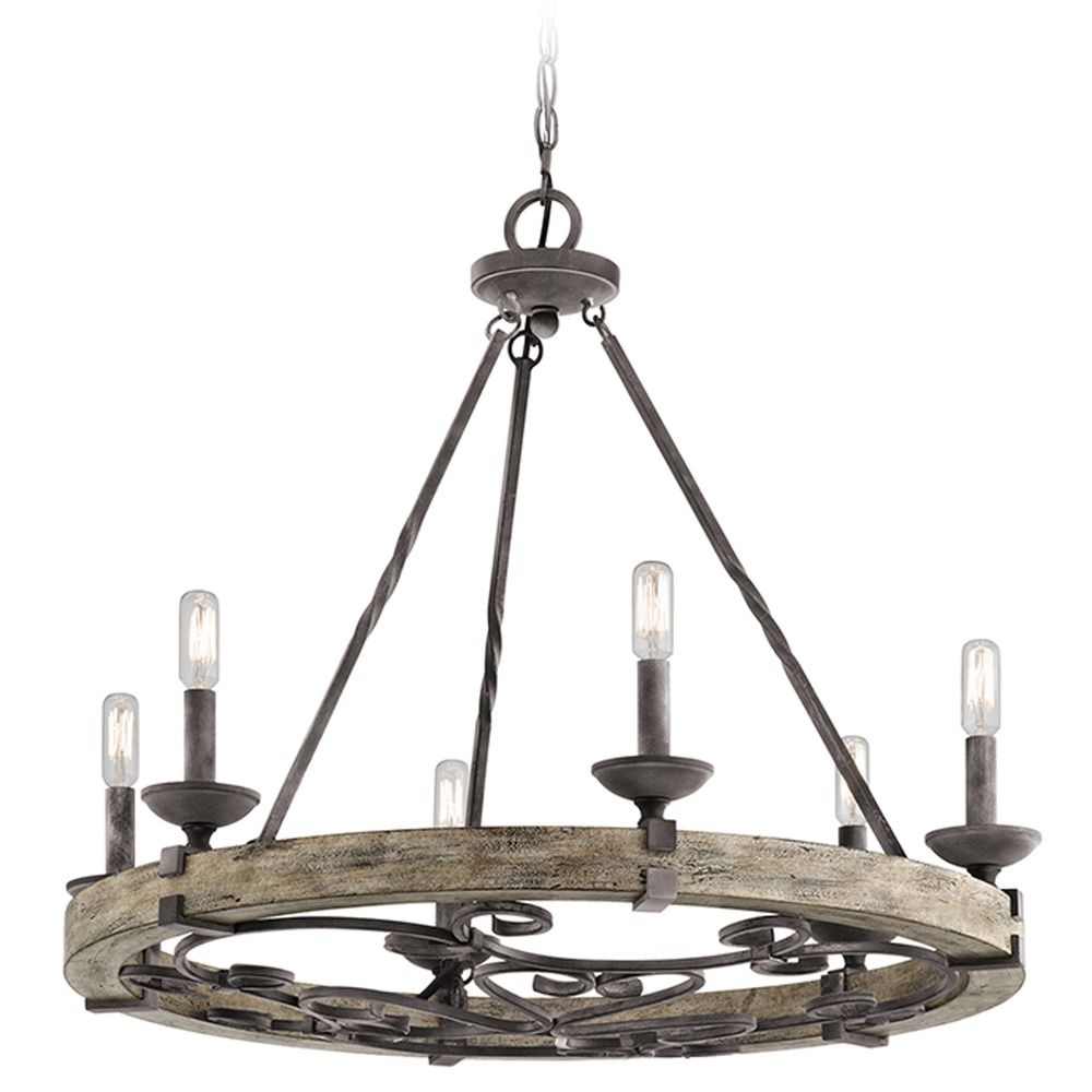 Kichler Lighting: Kichler Lighting 28.5-Inch 6-Light Candelabra Chandelier