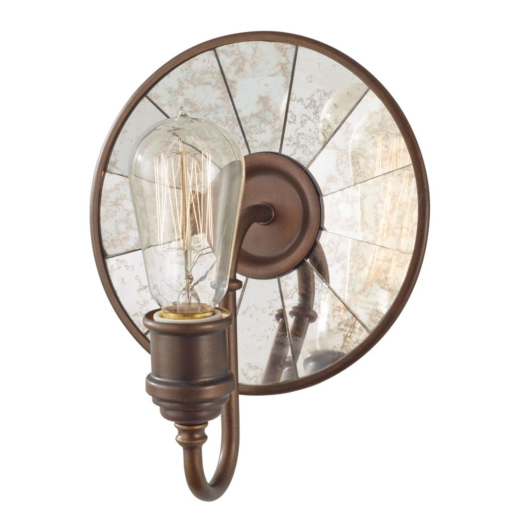 Wall Sconces Bronze Finish : Sconce Wall Light in Astral Bronze Finish WB1701ASTB Destination Lighting