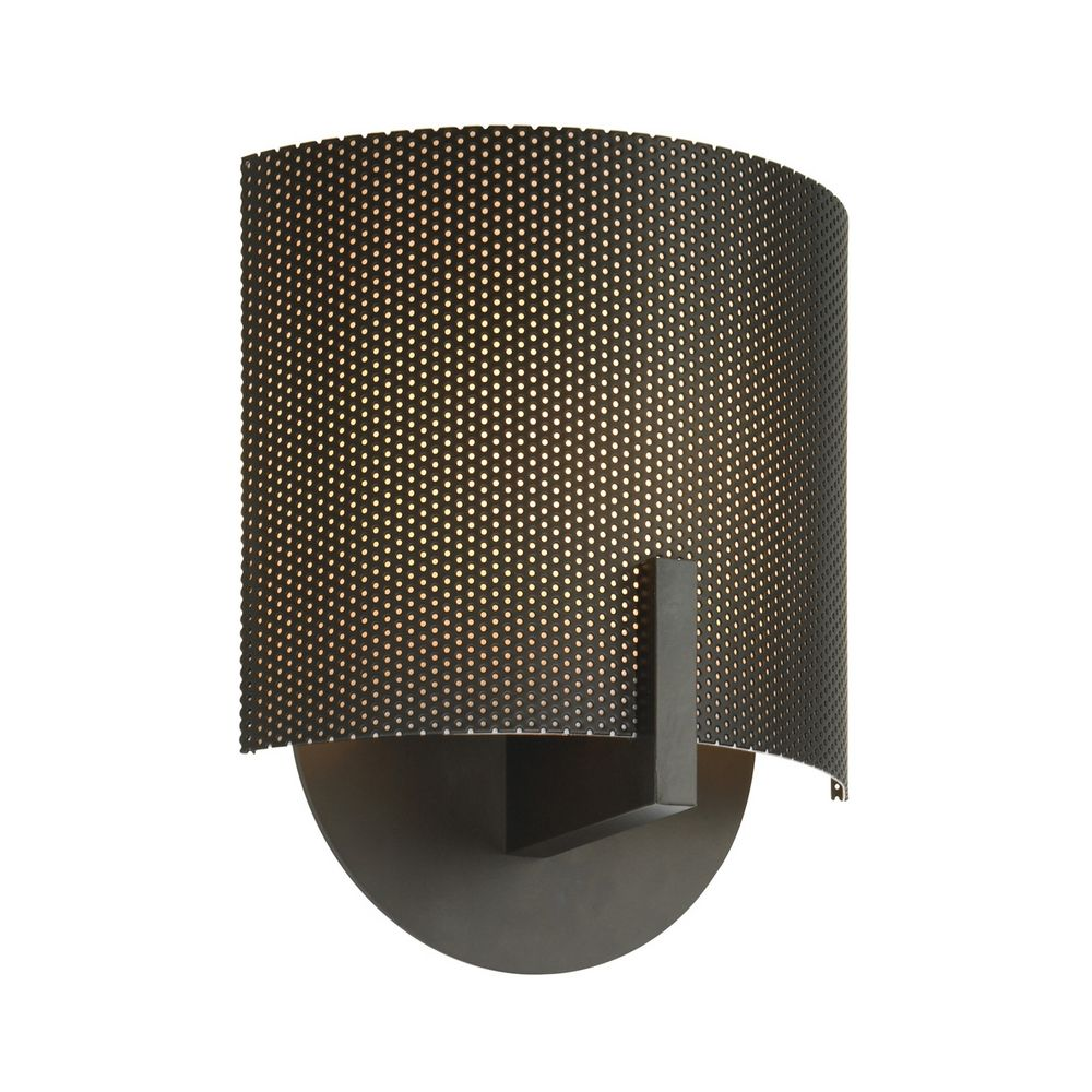 Bronze Finish Wall Lights : Modern Sconce Wall Light in Black Bronze Finish 1728.32P Destination Lighting