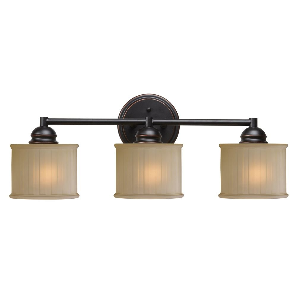 Kenroy Home Barney Oil Rubbed Bronze Bathroom Light 93573orb Destination Lighting