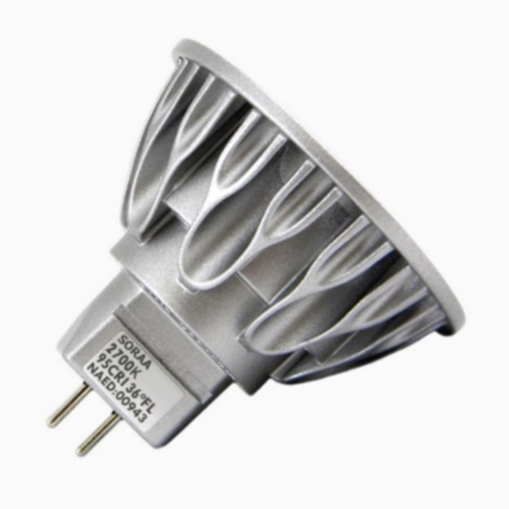 Mr16 Led Wattage: MR16 LED Bulb Flood 36 Degree Beam Spread 2700K 12V 50
