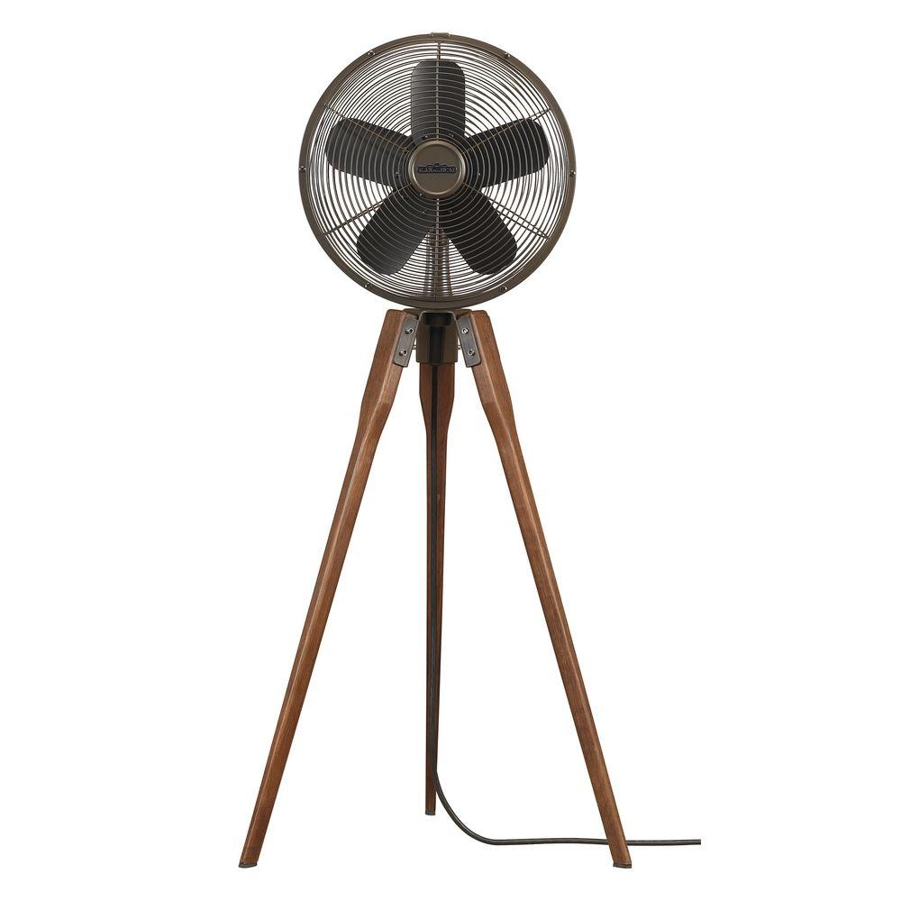 Floor Fans With Light : Floor fan in oil rubbed bronze finish fp ob