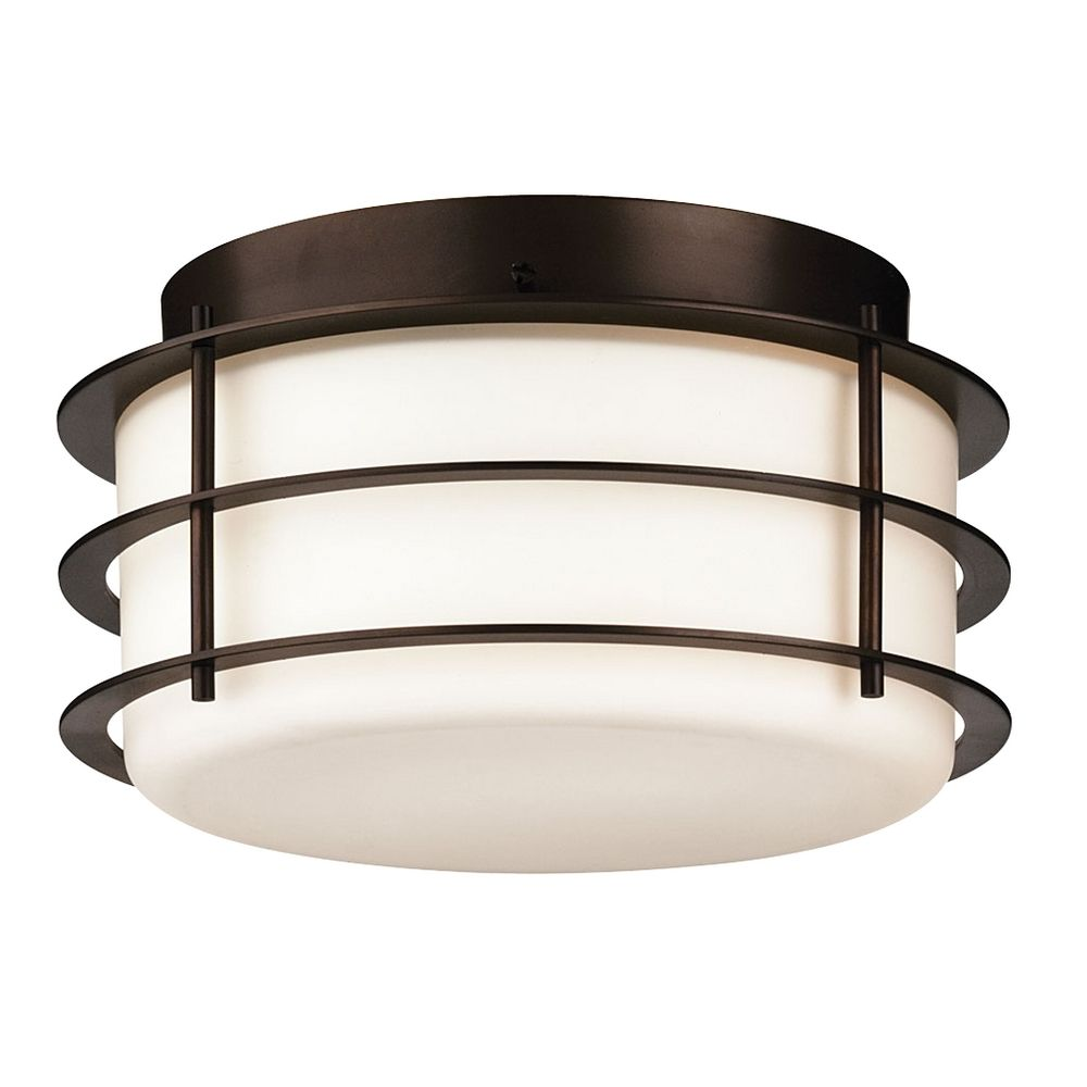 Flushmount Outdoor Ceiling Light F NV