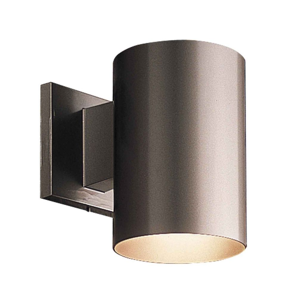 Progress Lighting Cylinder Antique Bronze Outdoor Wall