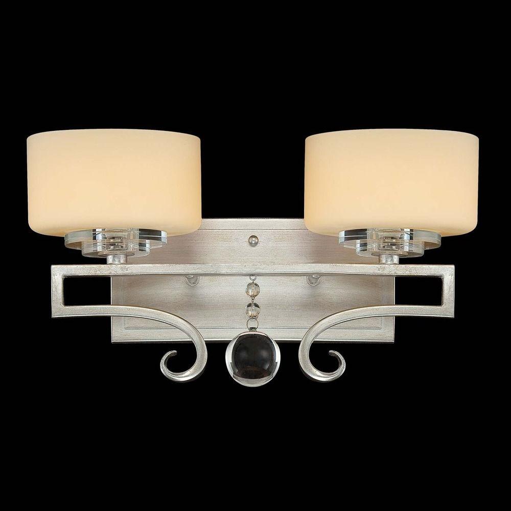 Savoy House Silver Sparkle Bathroom Light 8 257 2 307