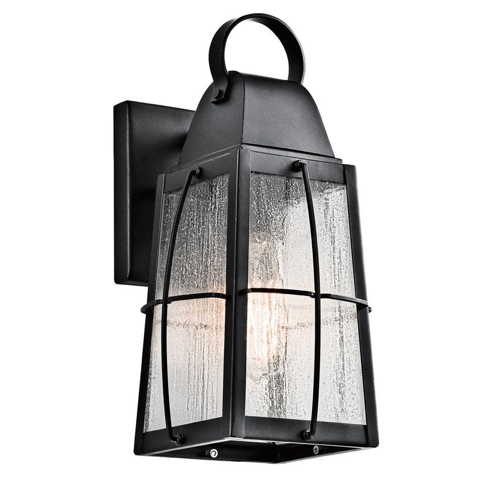 Kichler Lights Outdoor: Kichler Lighting Tolerand Textured Black Outdoor Wall