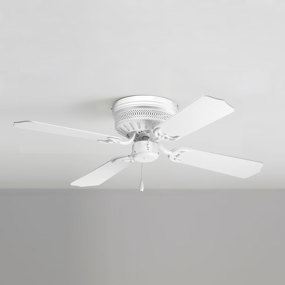 Progress Ceiling Fan Without Light In White Finish P2524 30 Destination Lighting
