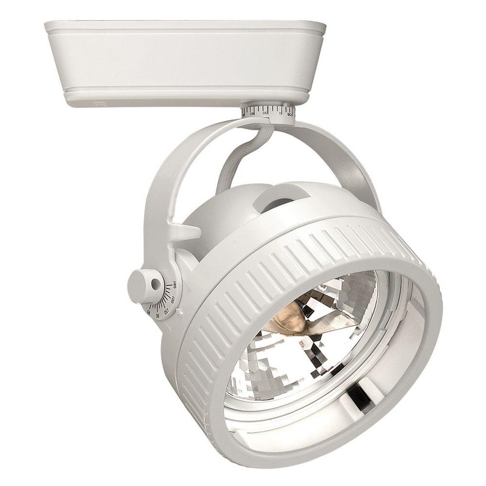 wac lighting white track light head lht 935l wt