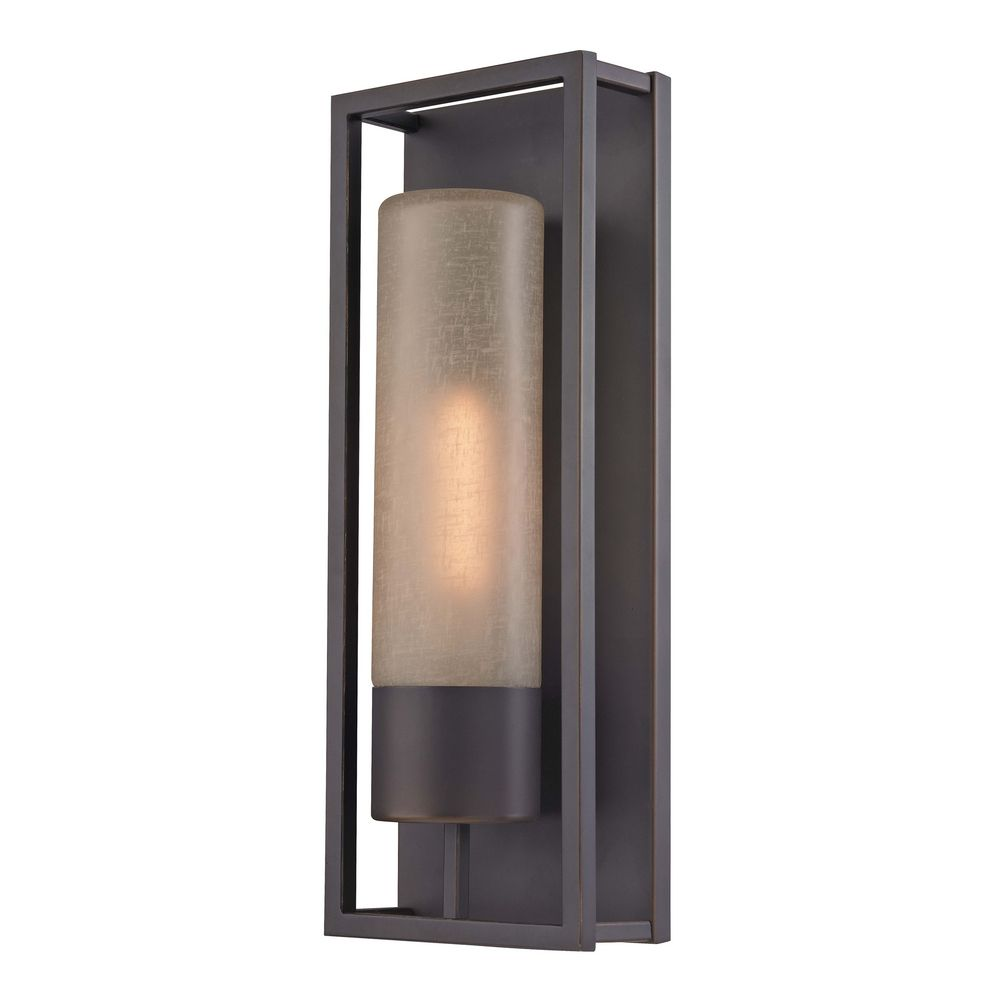 Cylinder wall sconce in bronze 116 78 destination lighting - Cylindrical wall sconce ...