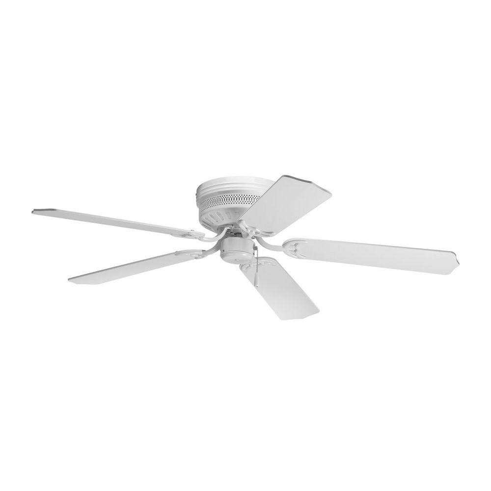 Progress Lighting Ceiling Fan Without Light In White Finish P2525 30