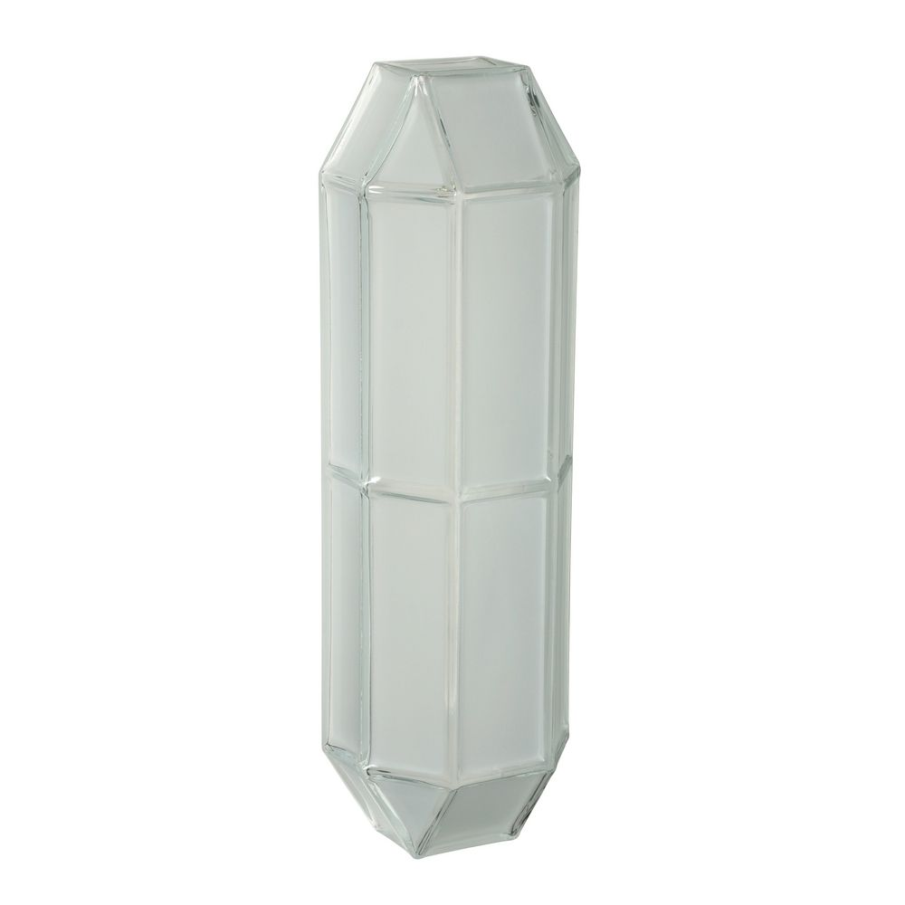Sconce Wall Light with White Glass 304604 Destination Lighting