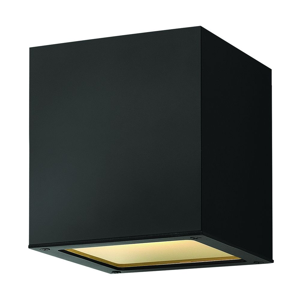 Close To Ceiling Modern Lights : Modern close to ceiling light with etched in satin black