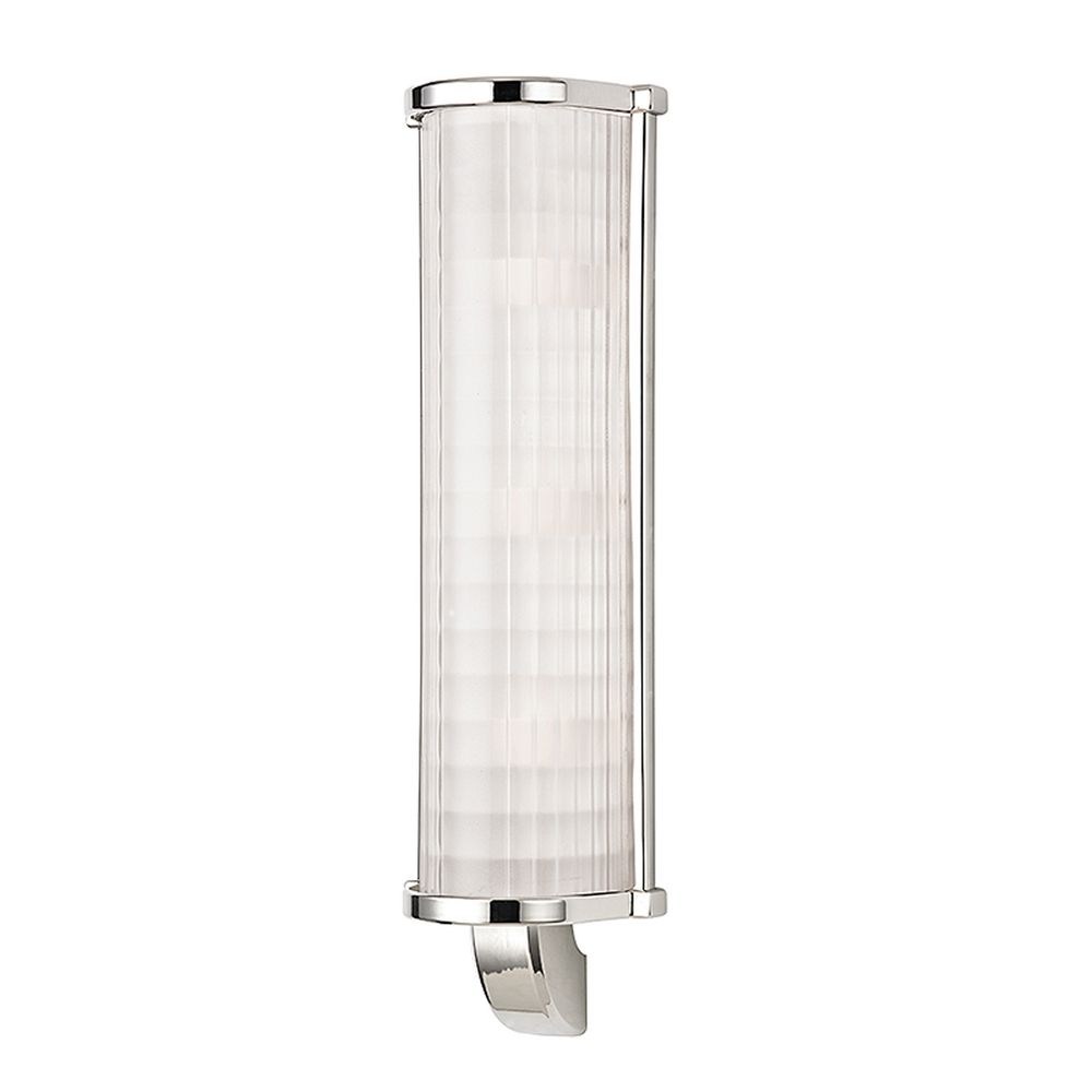 Hudson Valley Emergency Lighting: Hudson Valley Lighting Arcadia Polished Nickel Sconce