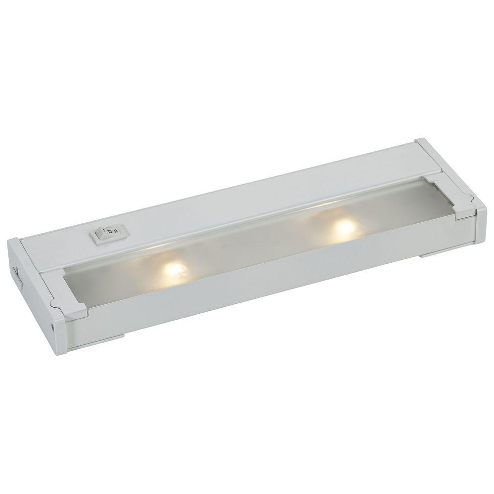 12-Inch Xenon Under Cabinet Light Direct-Wire / Plug-In 120V White ...
