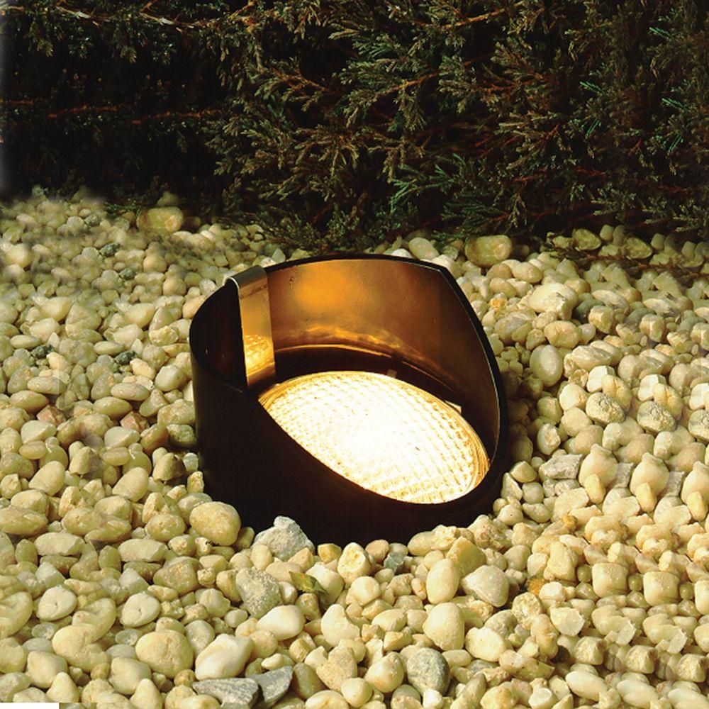 kichler adjustable low voltage in ground light 15388bk. Black Bedroom Furniture Sets. Home Design Ideas