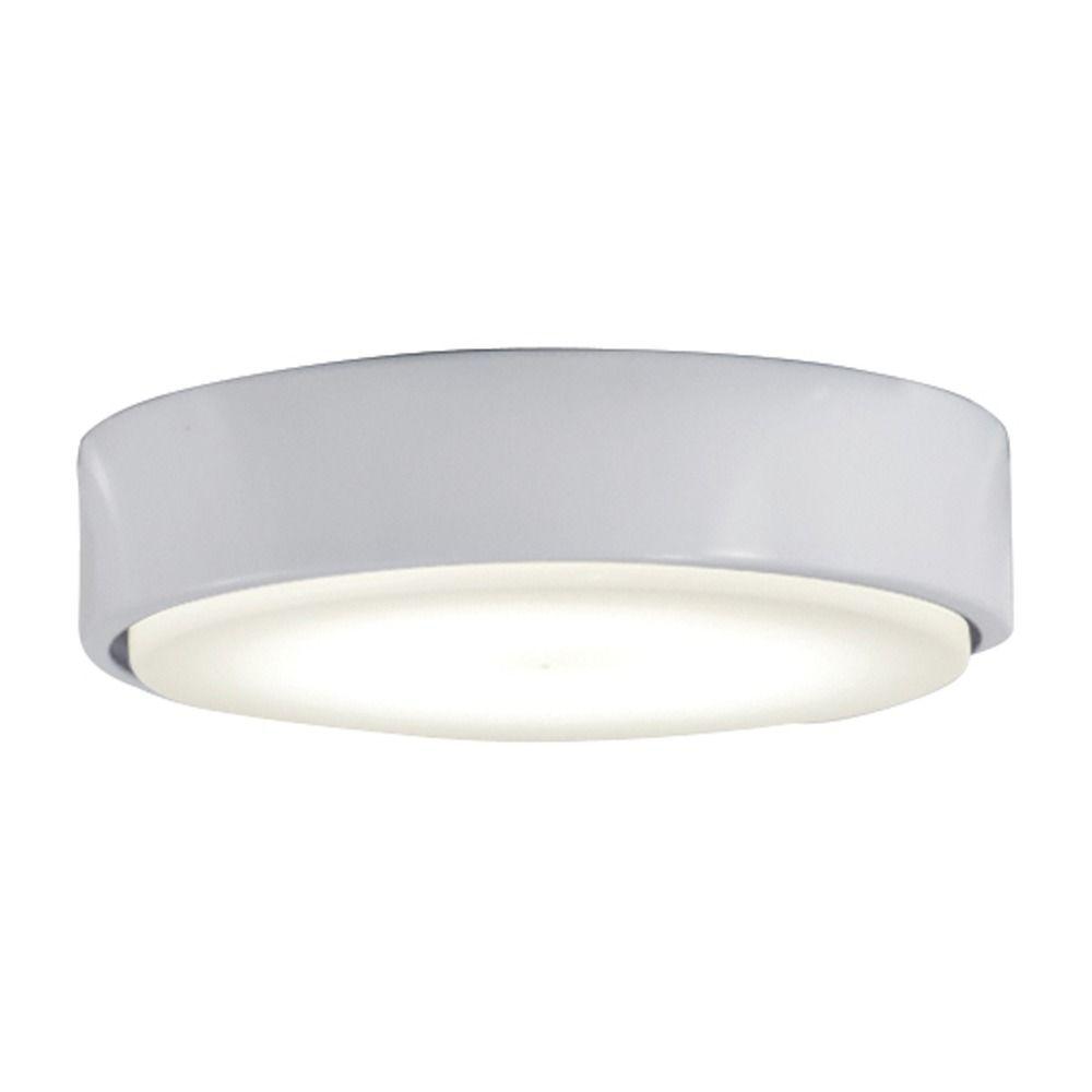 Minka Aire Flat White Led Fan Light Kit K9886l Whf