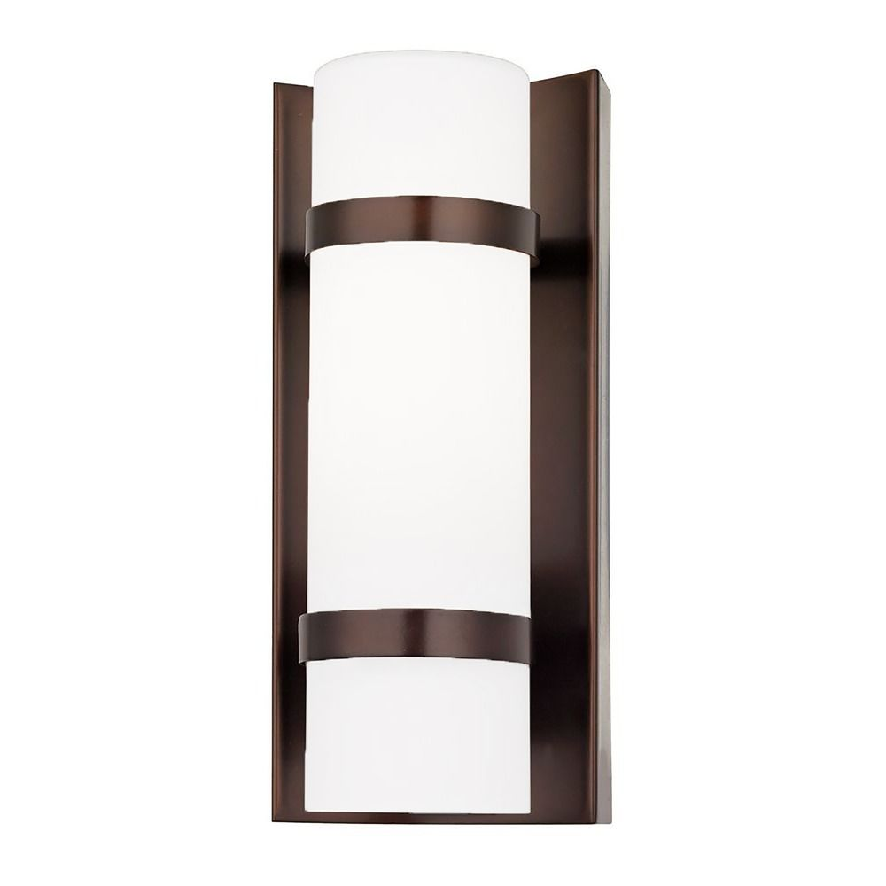 Bathroom Wall Light Sconces : Bronze Indoor / Outdoor Wall Light 117-220 Destination Lighting