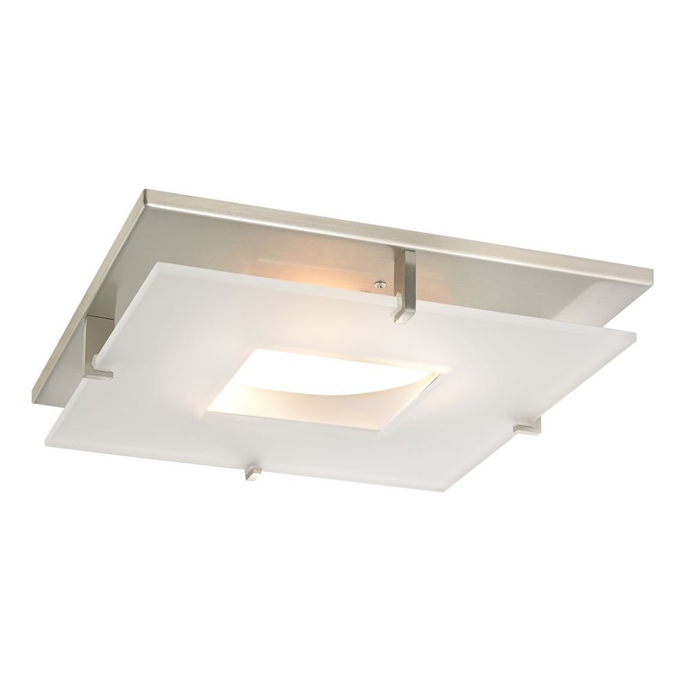 Hover or Click to Zoom  sc 1 st  Destination Lighting & Contemporary Square Decorative Recessed Lighting Ceiling Trim ... azcodes.com