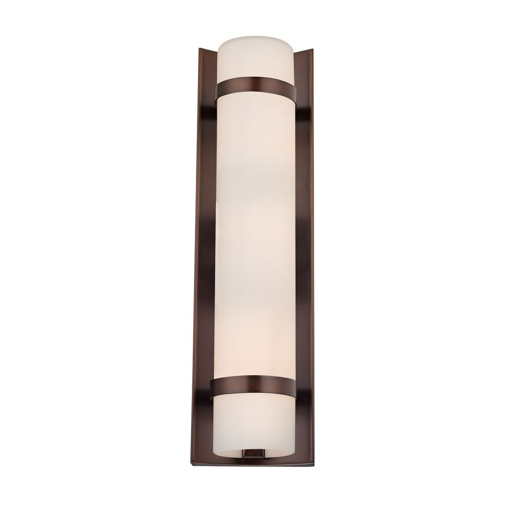 Design Classics Lighting Duo Bronze Bathroom Light Vertical Mounting Only 118 220