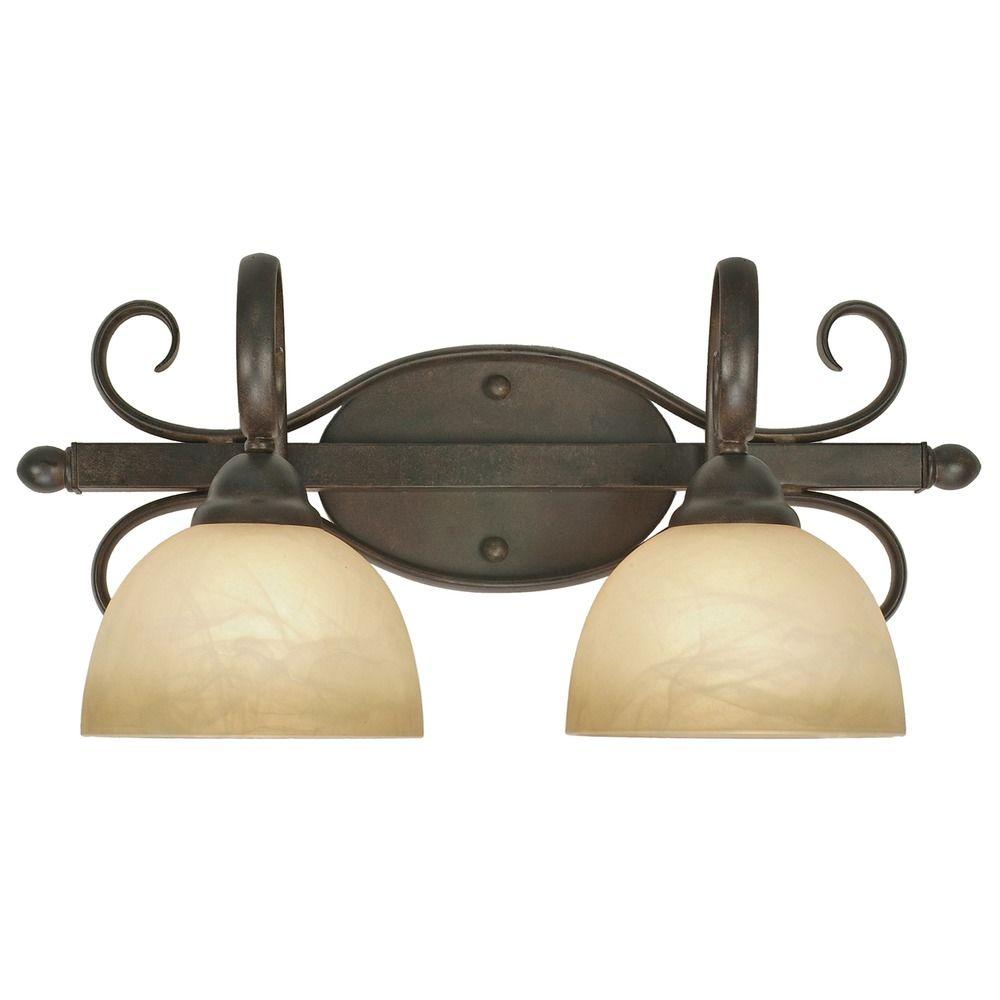 Golden lighting riverton peppercorn bathroom light 1567 for Bathroom decor riverton