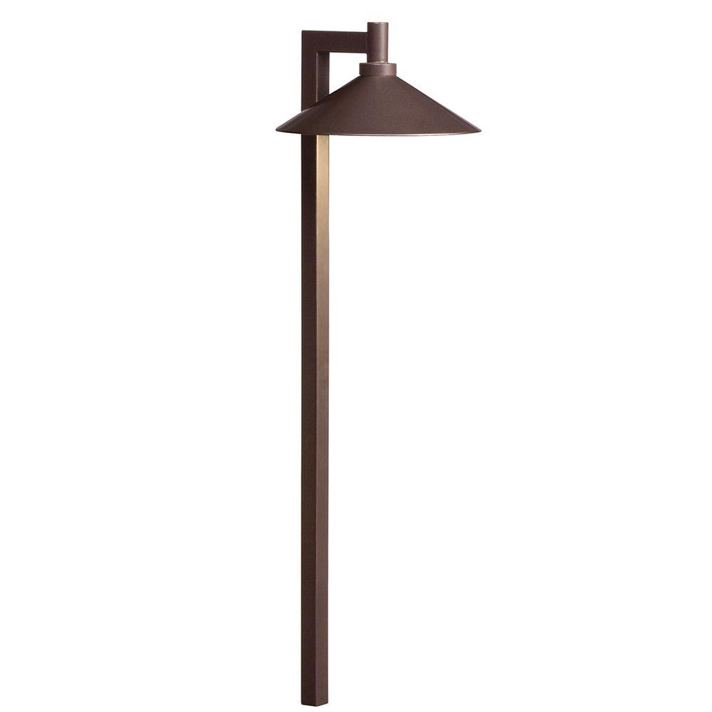 Kichler Lighting Bronzed Brass Led Path Light