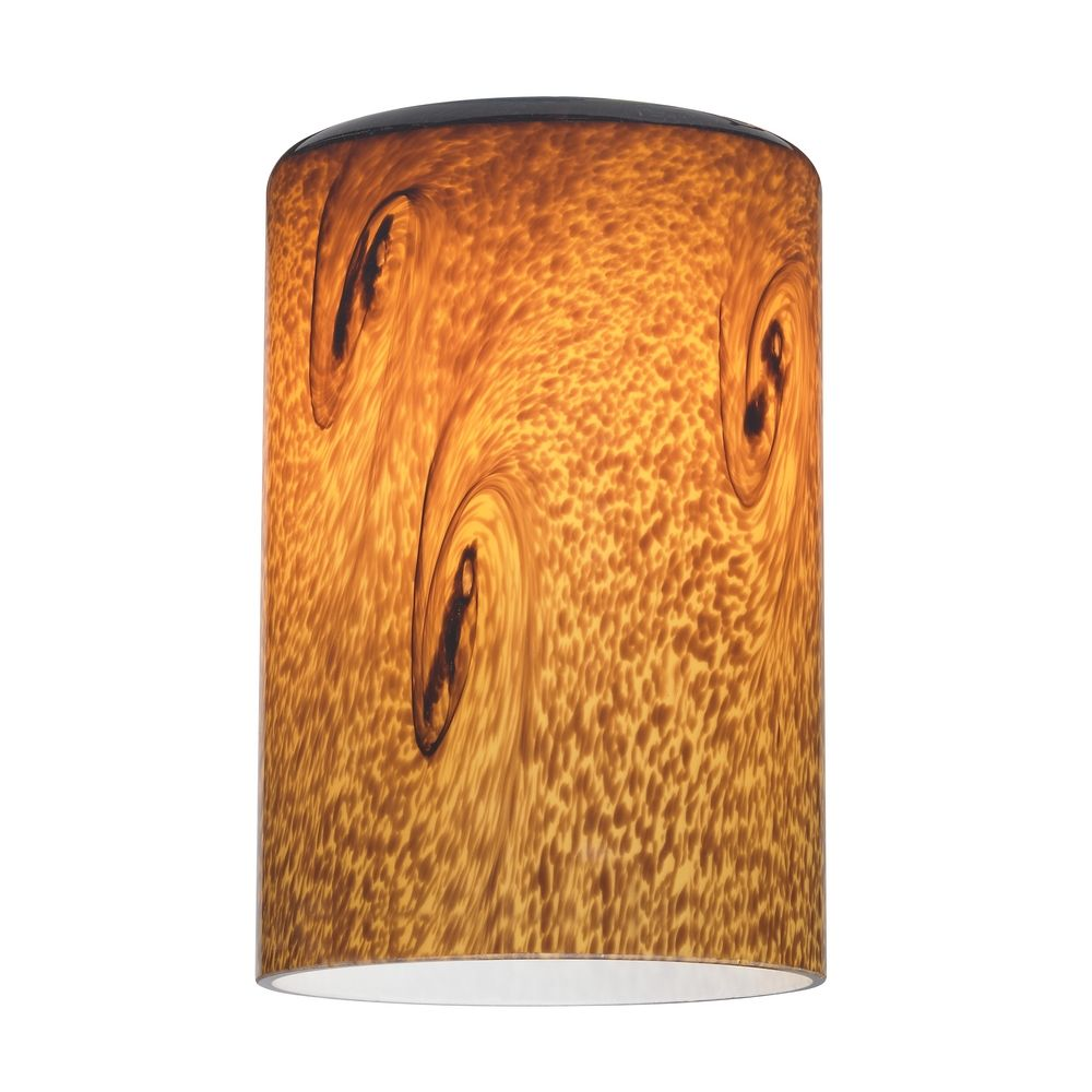 Art glass cylinder shade lipless with 1 58 inch fitter opening product image mozeypictures