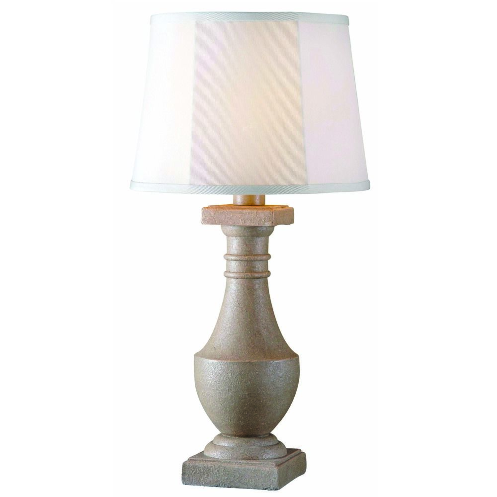 Kenroy Patio Coquina Outdoor Table Lamp