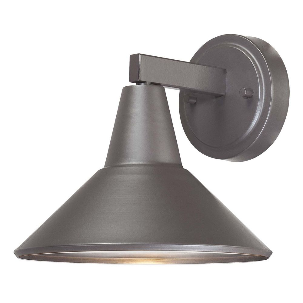 Dark Sky Approved Bronze Outdoor Wall Down Light - 8-1/4-Inches Tall 72211-615B Destination ...