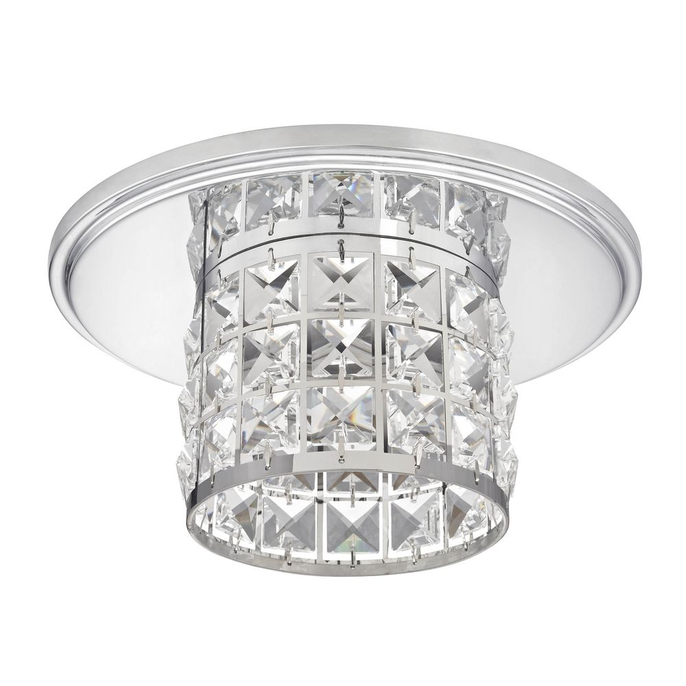 Decorative Crystal Ceiling Trim for Recessed Lighting - 10534-26 ...