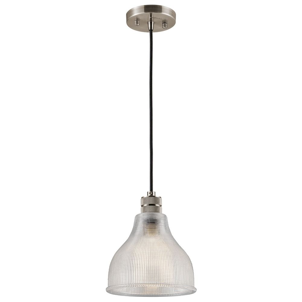 Farmhouse Mini-Pendant Light Pewter Devin By Kichler