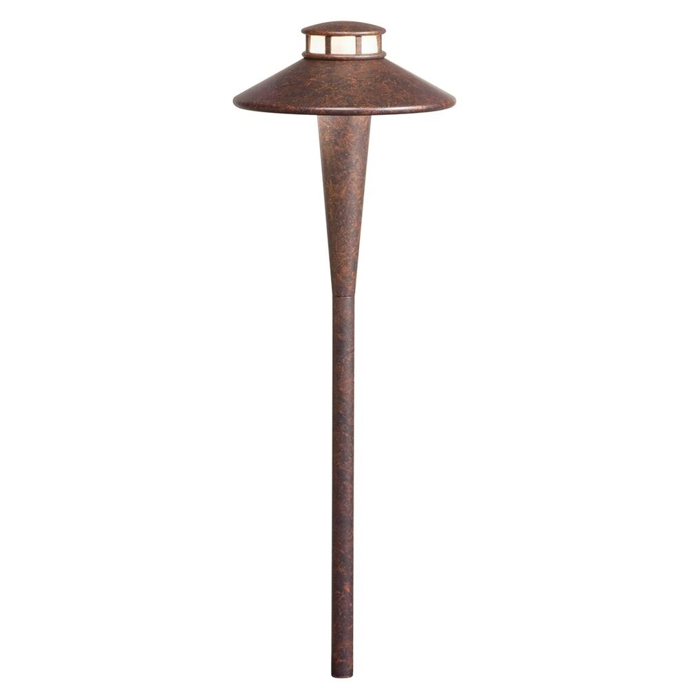 Kichler Lighting Textured Tannery Bronze LED Path Light