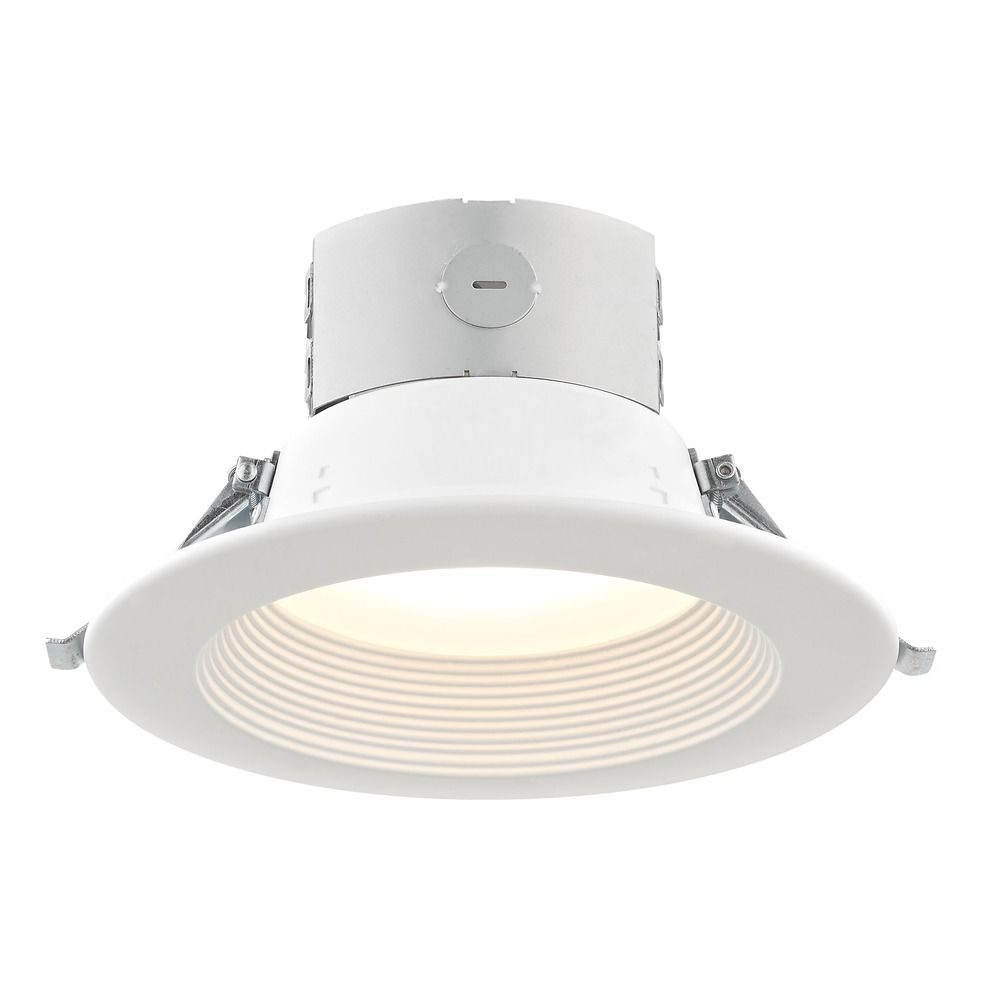 6 inch shallow canless led recessed light 3000k 1040 lumens ic and 6 inch led canless recessed light 2700k 1250 lumens mozeypictures Gallery