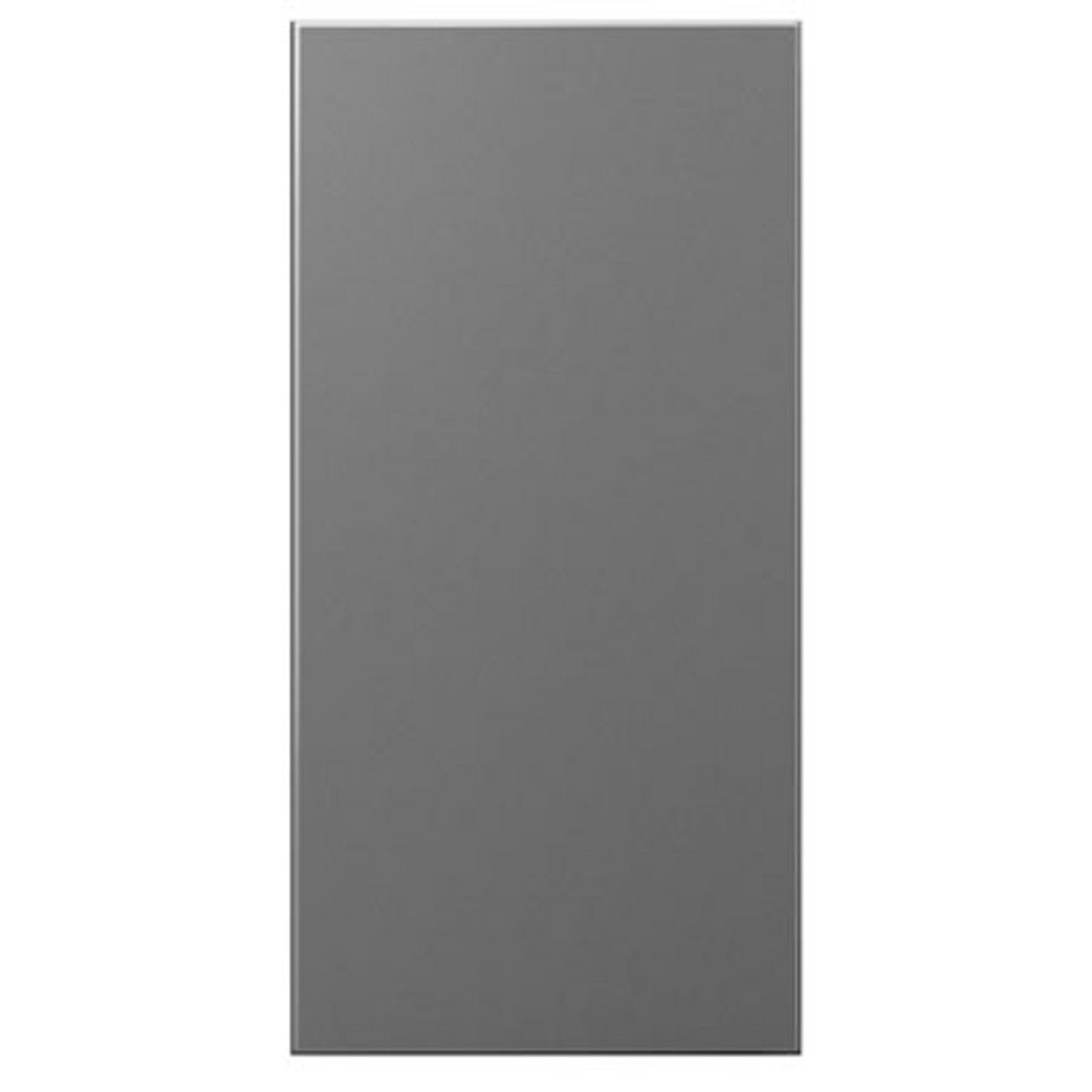 Blank Switch Plate Cool Legrand Adorne Blank 1Module In Magnesium Finish  Aabk1M4 Inspiration Design