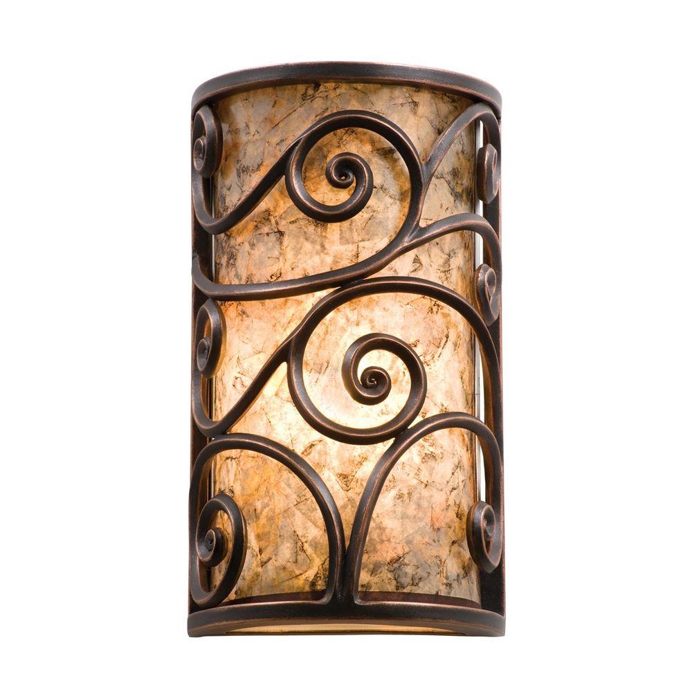 Kalco Lighting Windsor Antique Copper Sconce 5416AC Destination Lighting