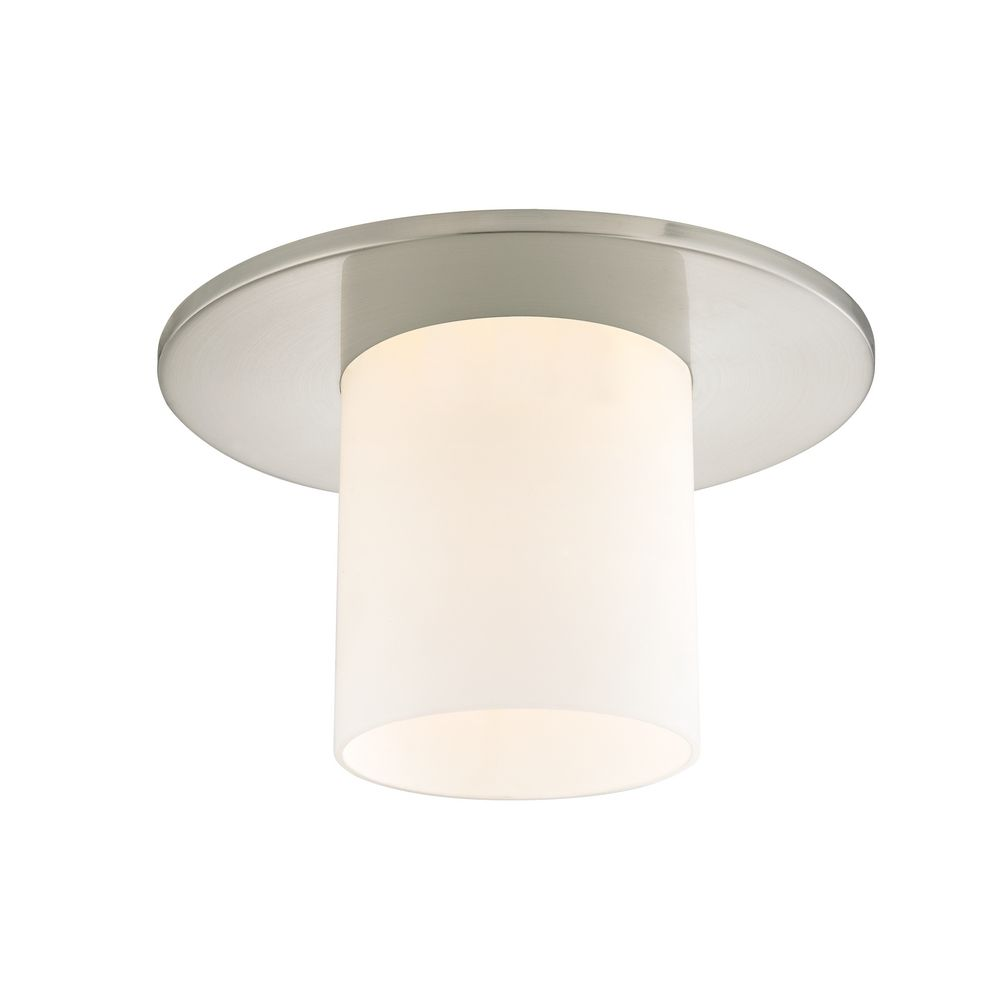 Recessed Lighting Glass Trim : Decorative ceiling trim for recessed lights with frosted