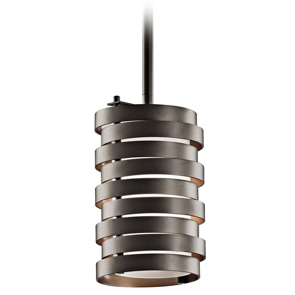 Kichler modern mini pendant light with white glass 43304oz product image aloadofball Gallery