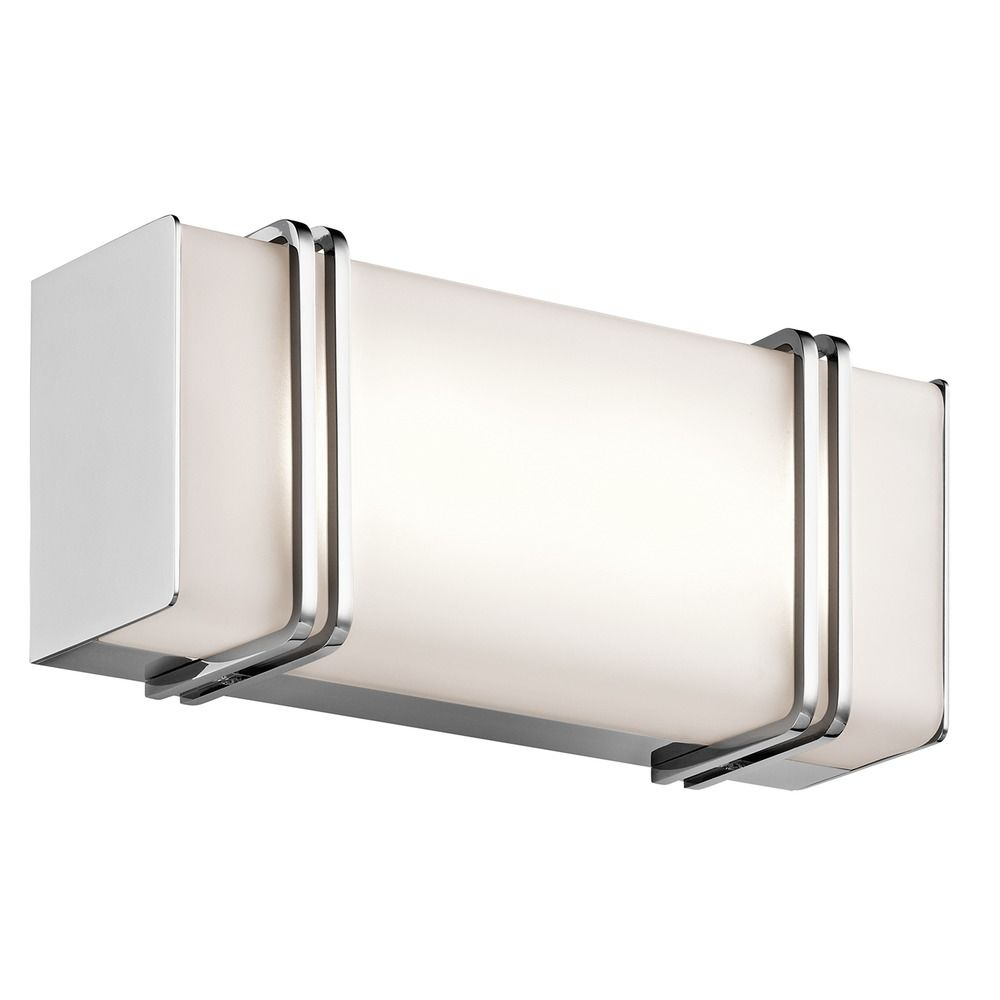 Kichler Lighting Impello Chrome LED Bathroom Light 45836CHLED Destination