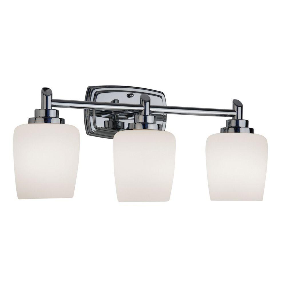 Three-Light Bathroom Vanity Light 463-26 Destination Lighting