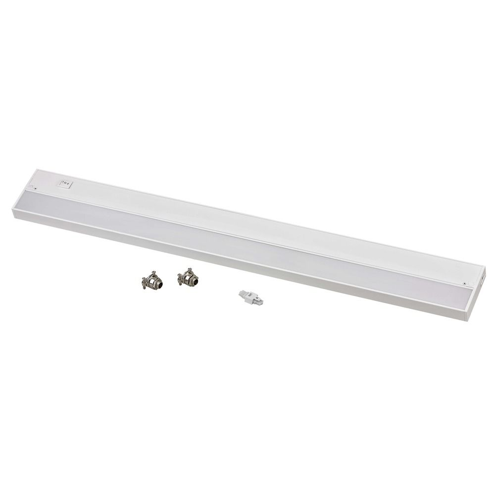 30-Inch White LED Under Cabinet Light - 3000K LED | UCLN30-3000-WH ...