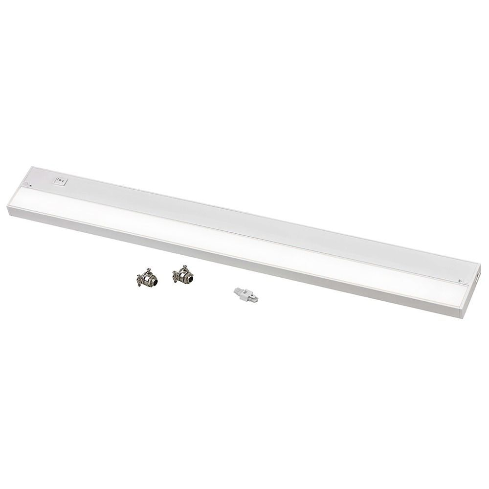 Under Counter Lighting Led Direct Wire: 30-Inch LED Under Cabinet Light Direct-Wire / Plug-In