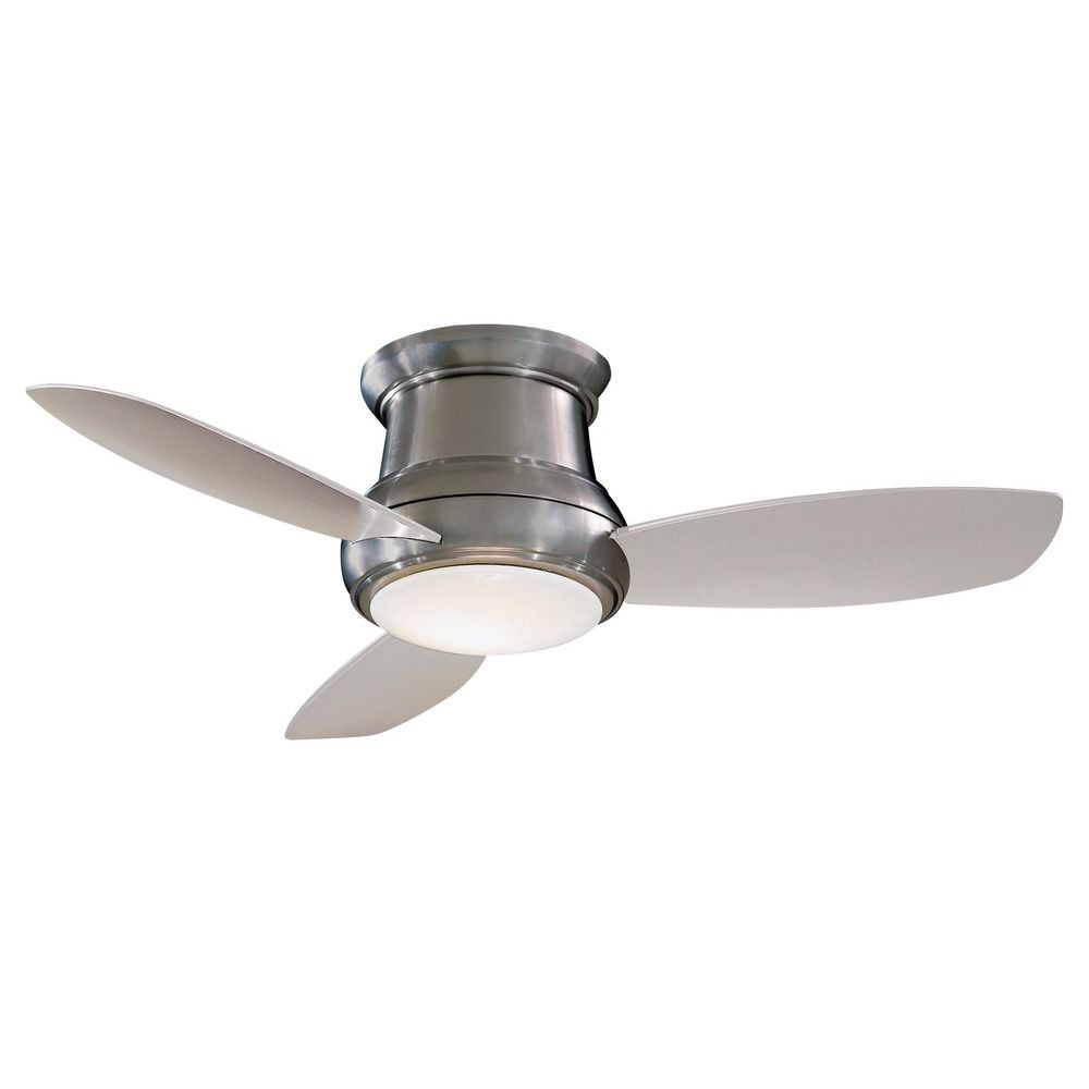 White Ceiling Fans With Remote Control &