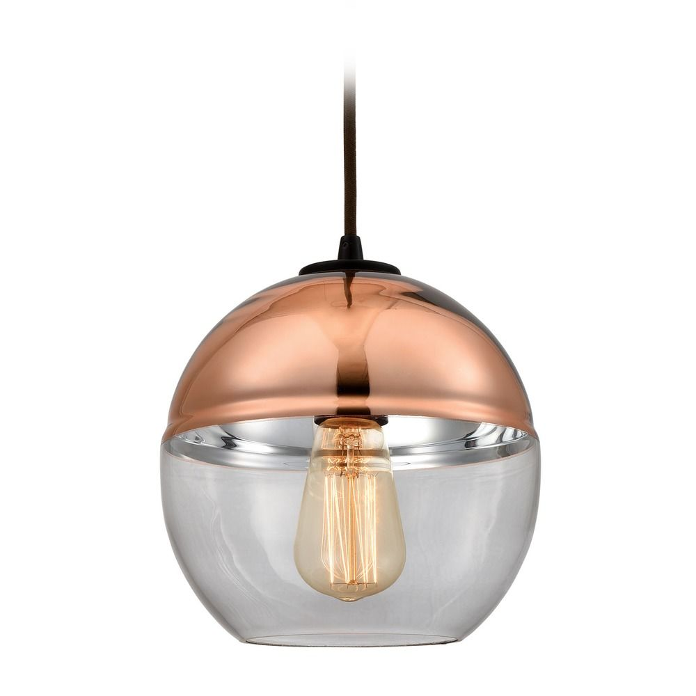 elk lighting revelo oil rubbed bronze mini