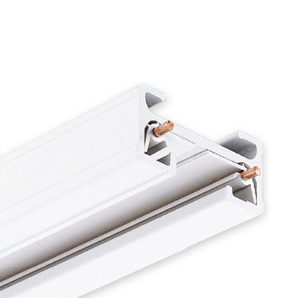 juno lighting group 2 foot single circuit juno track t2wh. Black Bedroom Furniture Sets. Home Design Ideas