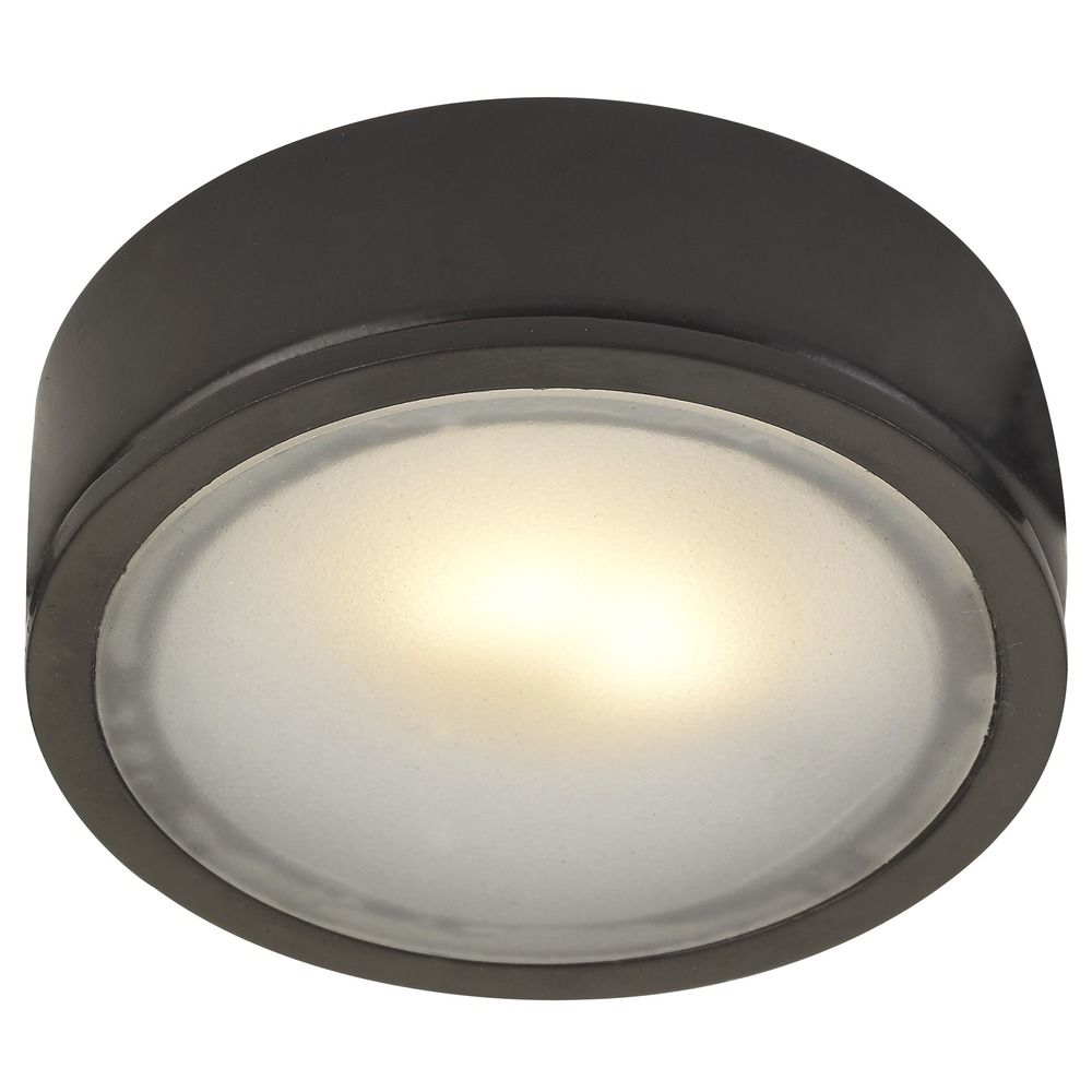 bronze recessed surface mount led puck light 2700k led. Black Bedroom Furniture Sets. Home Design Ideas